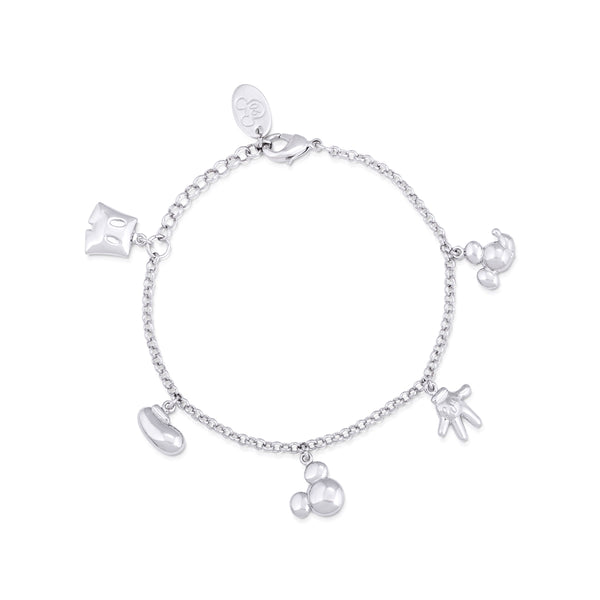 Disney Mickey Mouse Icon Charm Bracelet - Disney Jewellery
