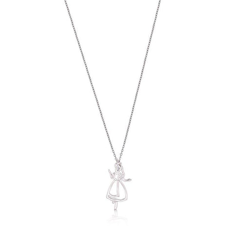 Junior Alice in Wonderland Outline Necklace