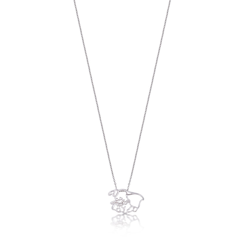 Kids Disney Dumbo Outline Necklace