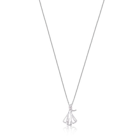Disney Frozen Elsa Outline Necklace - Disney Jewellery