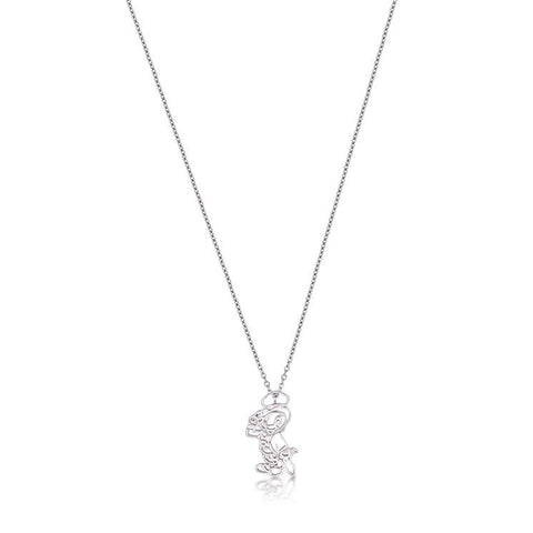 Junior Jiminy Cricket Outline Necklace - Disney Jewellery