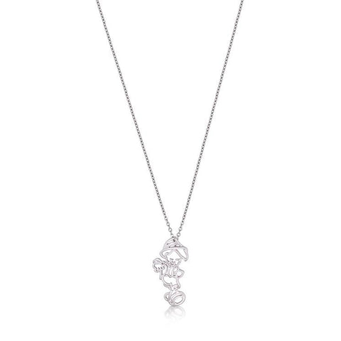 Junior Pinocchio Outline Necklace - Disney Couture Jewellery