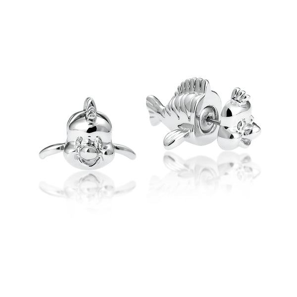 Disney Princess The Little Mermaid Flounder Stud Earrings - Disney Jewellery