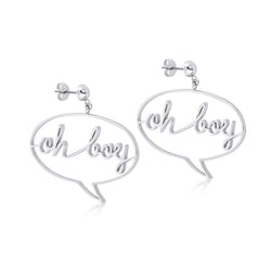 Disney Mickey Mouse Oh Boy Earrings - Disney Jewellery