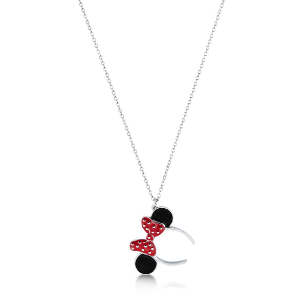 Disney Minnie Mouse Ears Necklace - Disney Jewellery