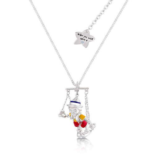 Disney Pinocchio Puppet Strings Necklace - Disney Jewellery