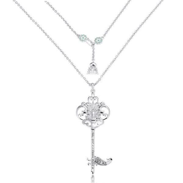 Disney Aladdin Princess Jasmine Key Necklace - Disney Jewellery