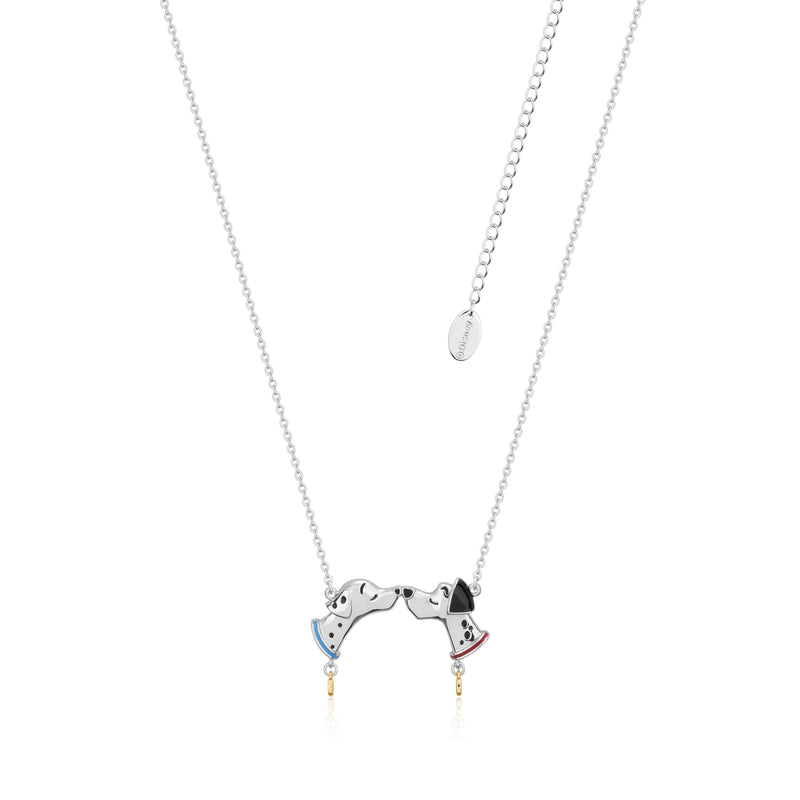 Disney_101_Dalmatians_Pongo_Perdita_White_Gold_Necklace_Couture_Kingdom_DSN652