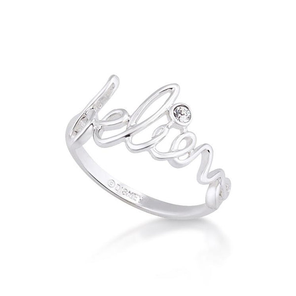Disney Tinker Bell Believe Ring - Disney Jewellery