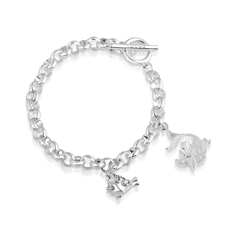 Disney The Little Mermaid Flounder Bracelet