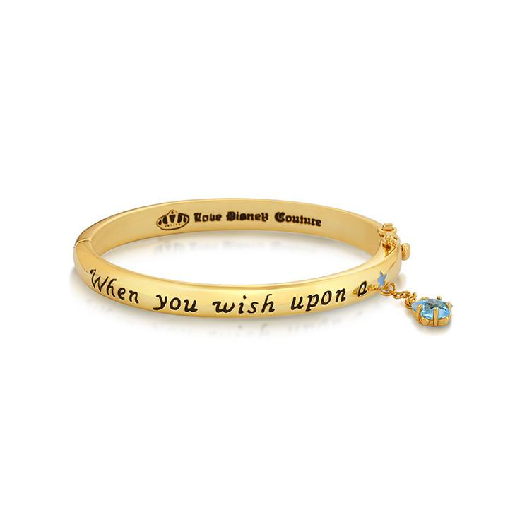 Disney Pinocchio Wish Upon A Star Bangle - Disney Jewellery
