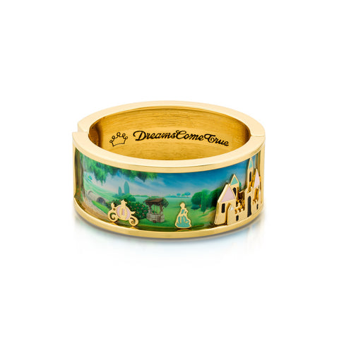Disney Cinderella Dreams Bangle - Disney Jewellery