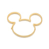 Disney Mickey Mouse Ear Hat Necklace