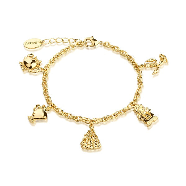 Disney Beauty and the Beast Charm Bracelet - Disney Jewellery