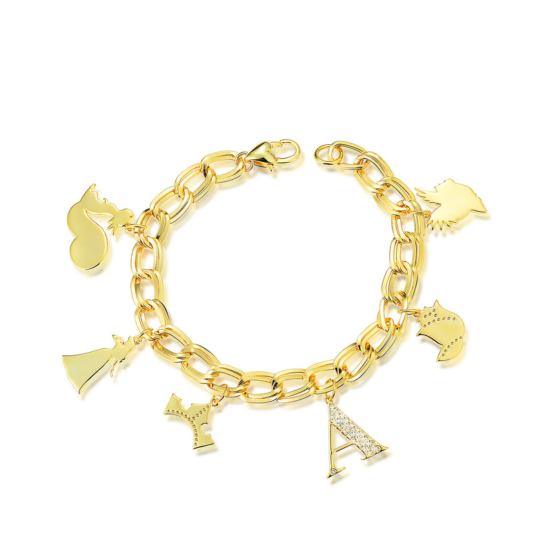 Disney Princess Sleeping Beauty Charm Bracelet - Disney Jewellery