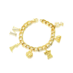 Disney Princess Mulan Charm Bracelet - Disney Jewellery
