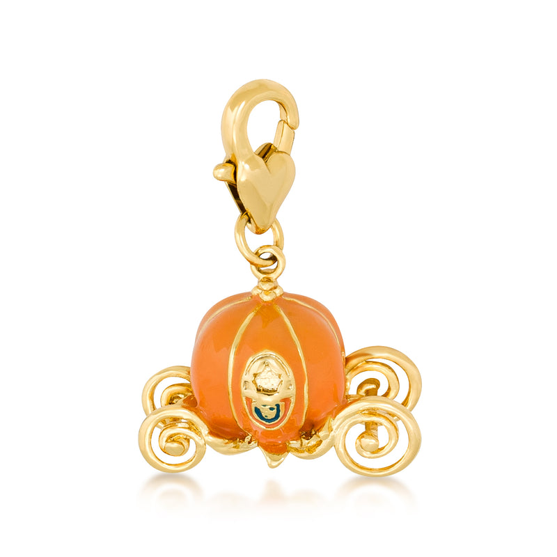Disney Cinderella Pumpkin Carriage Charm - Disney Jewellery