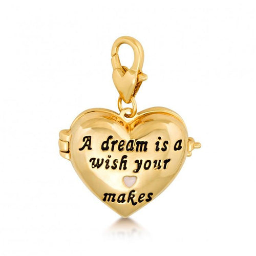 Disney Cinderella Heart Charm - Disney Jewellery