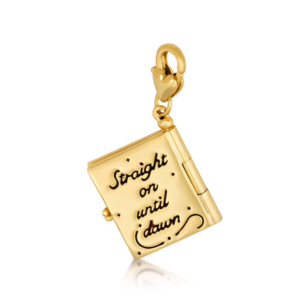 Disney Tinker Bell Neverland Map Charm