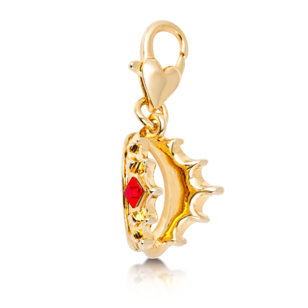 Disney Snow White Crown Charm - Disney Jewellery