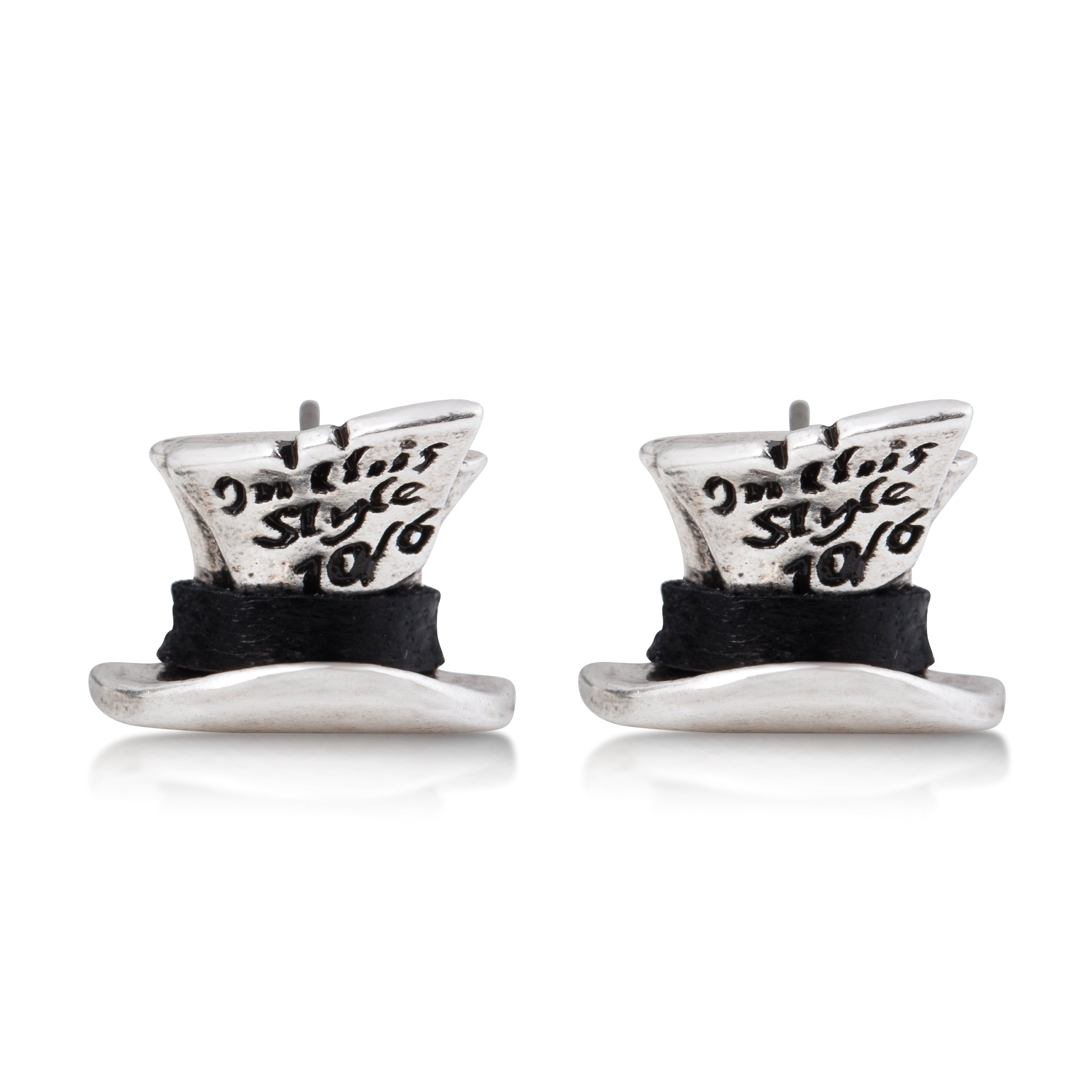 Mad Hatter Stud Earrings - Disney Couture Jewellery