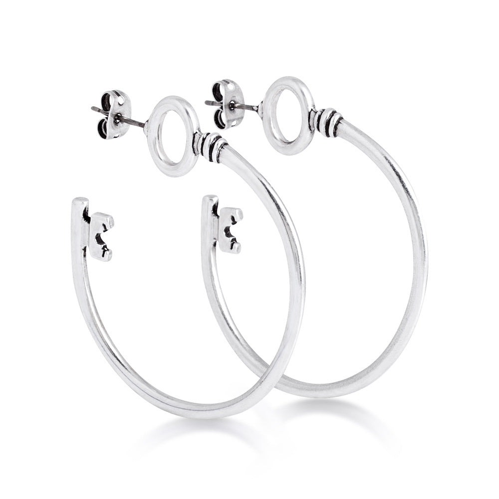Disney Alice in Wonderland Hoop Earrings - Disney Jewellery