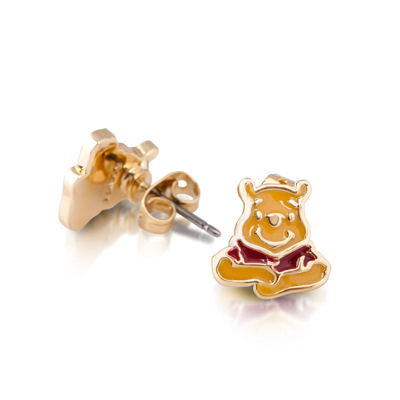 Disney Winnie the Pooh Enamel Stud Earrings
