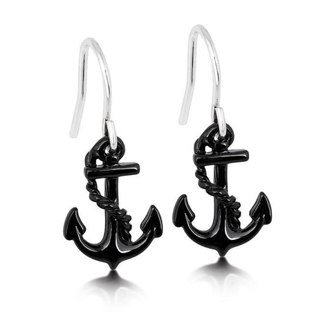 Disney Little Mermaid Anchor Drop Earrings