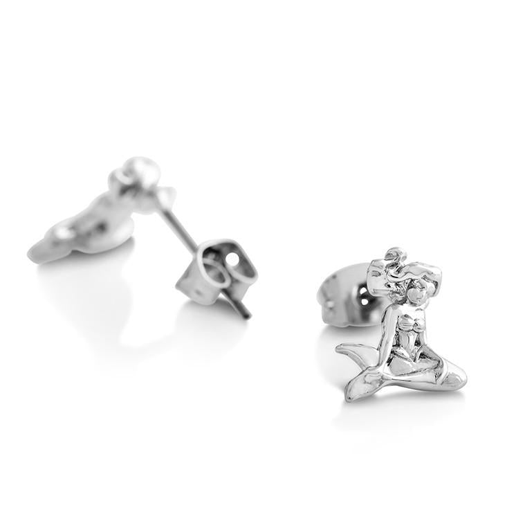 Disney The Little Mermaid Stud Earrings - Disney Jewellery
