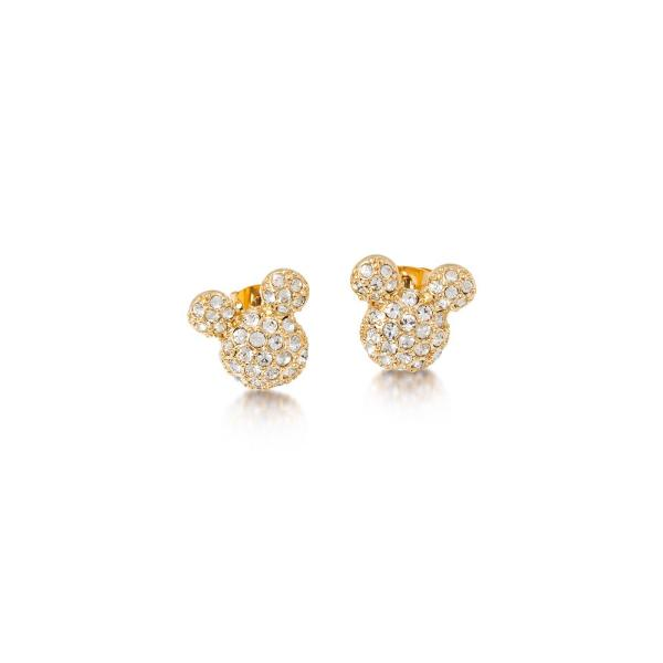 Disney Mickey Mouse Crystal Stud Earrings - Disney Jewellery
