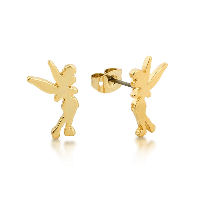 Disney Tinker Bell Silhouette Stud Earrings