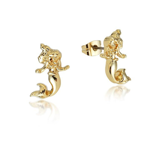 Disney Princess The Little Mermaid Stud Earrings - Disney Jewellery