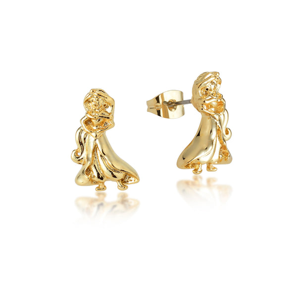 Disney Aladdin Princess Jasmine Stud Earrings - Disney Jewellery