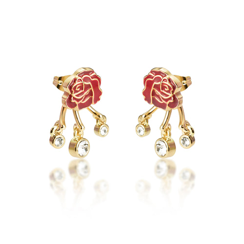 Disney-Beauty-Beast-Rose-Earrings