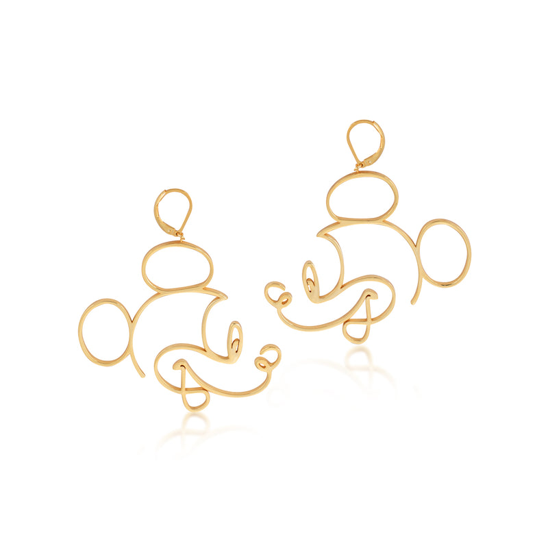 Disney Mickey Mouse Earrings - Disney Jewellery