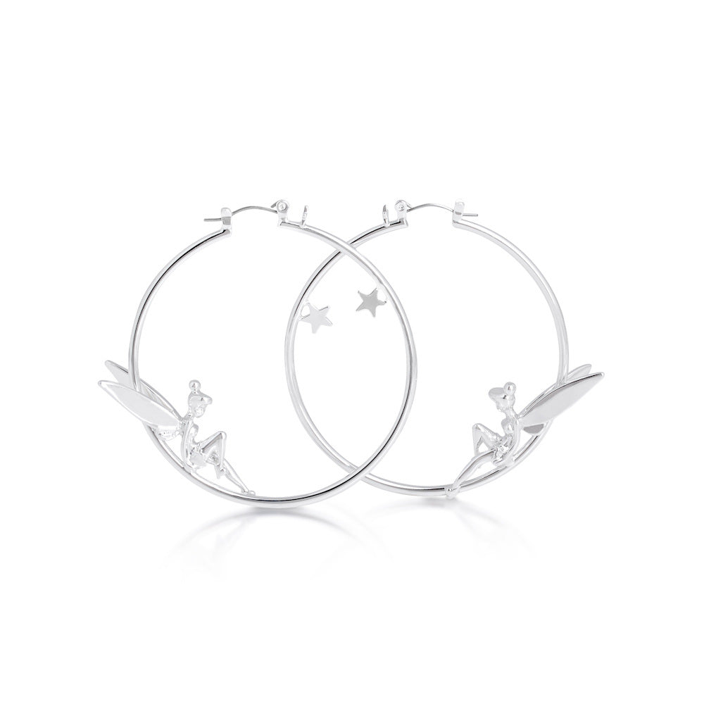 Disney Tinker Bell Hoop Earrings