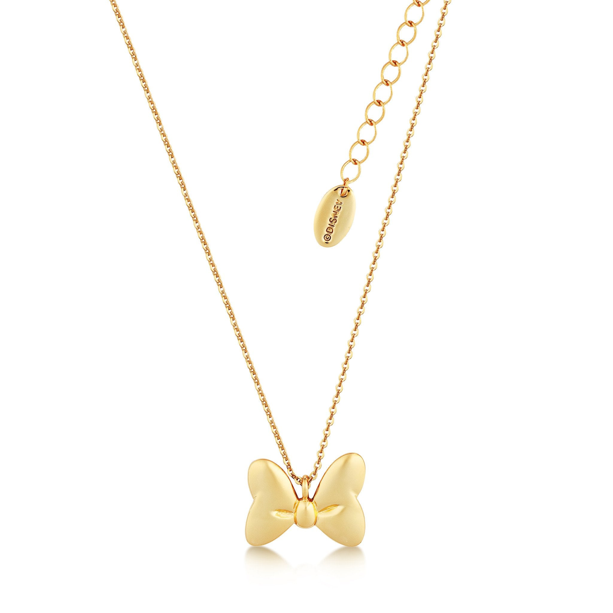 bow more white necklace gold diamond inches carat views necklaces