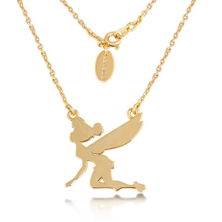Disney Tinker Bell Silhouette Necklace