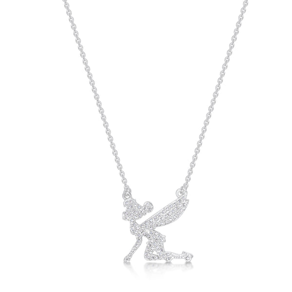 Disney Tinker Bell Crystal Necklace