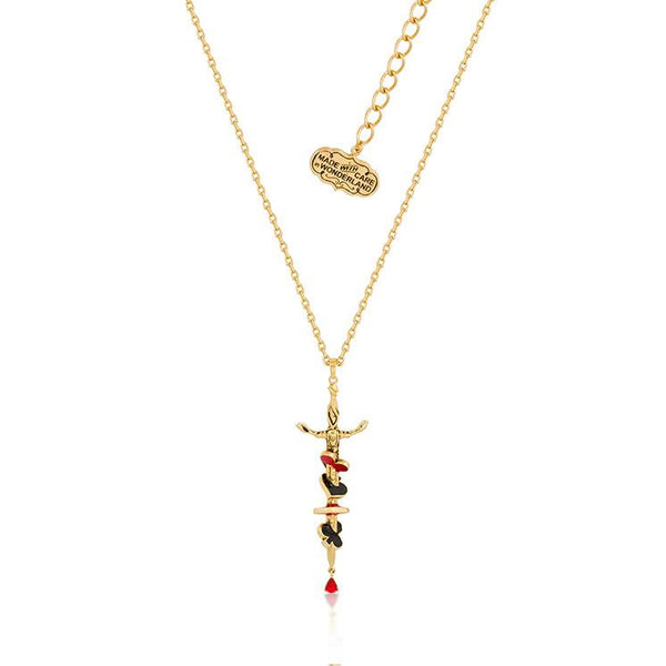 Disney Alice in Wonderland Red Queen Necklace - Disney Jewellery