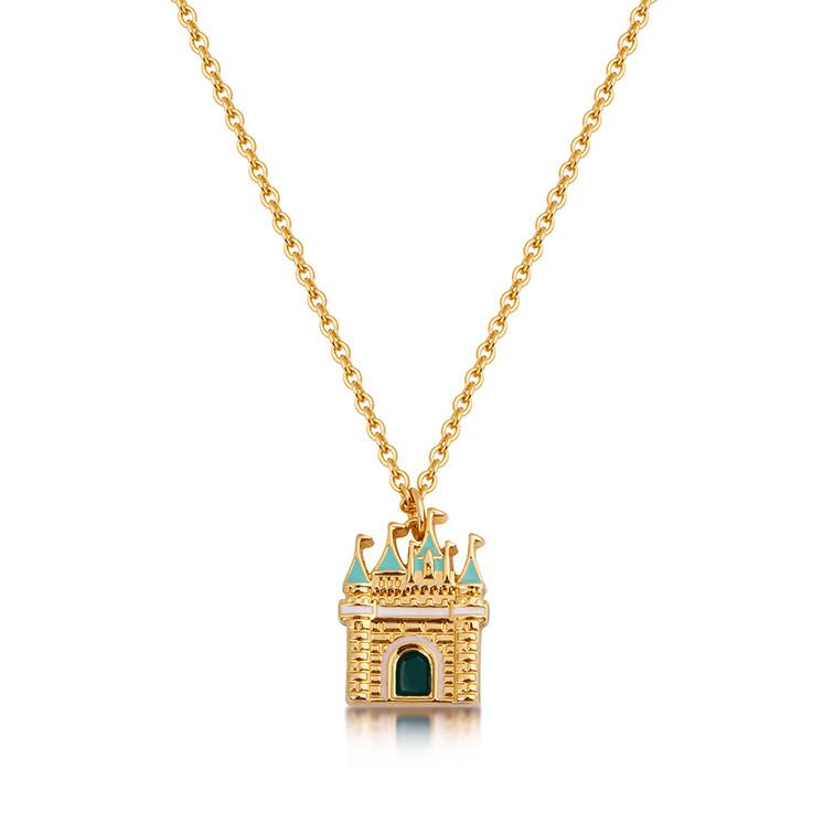 Disney Sleeping Beauty Castle Necklace - Disney Jewellery