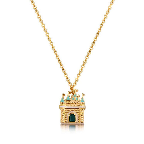 Disney Cinderella Castle Necklace - Disney Jewellery