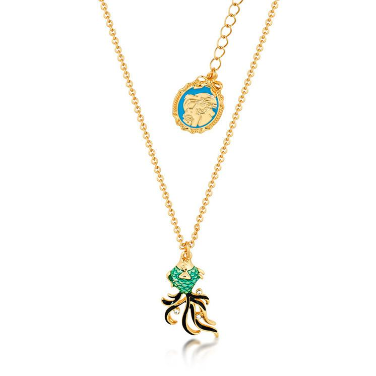 Disney The Little Mermaid Fish Necklace - Disney Jewellery