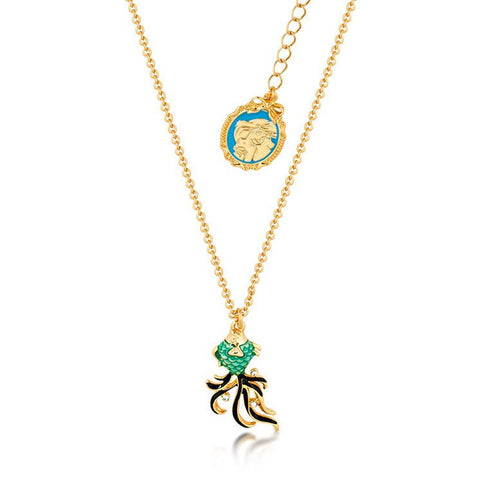 Kids Disney The Little Mermaid Outline Necklace