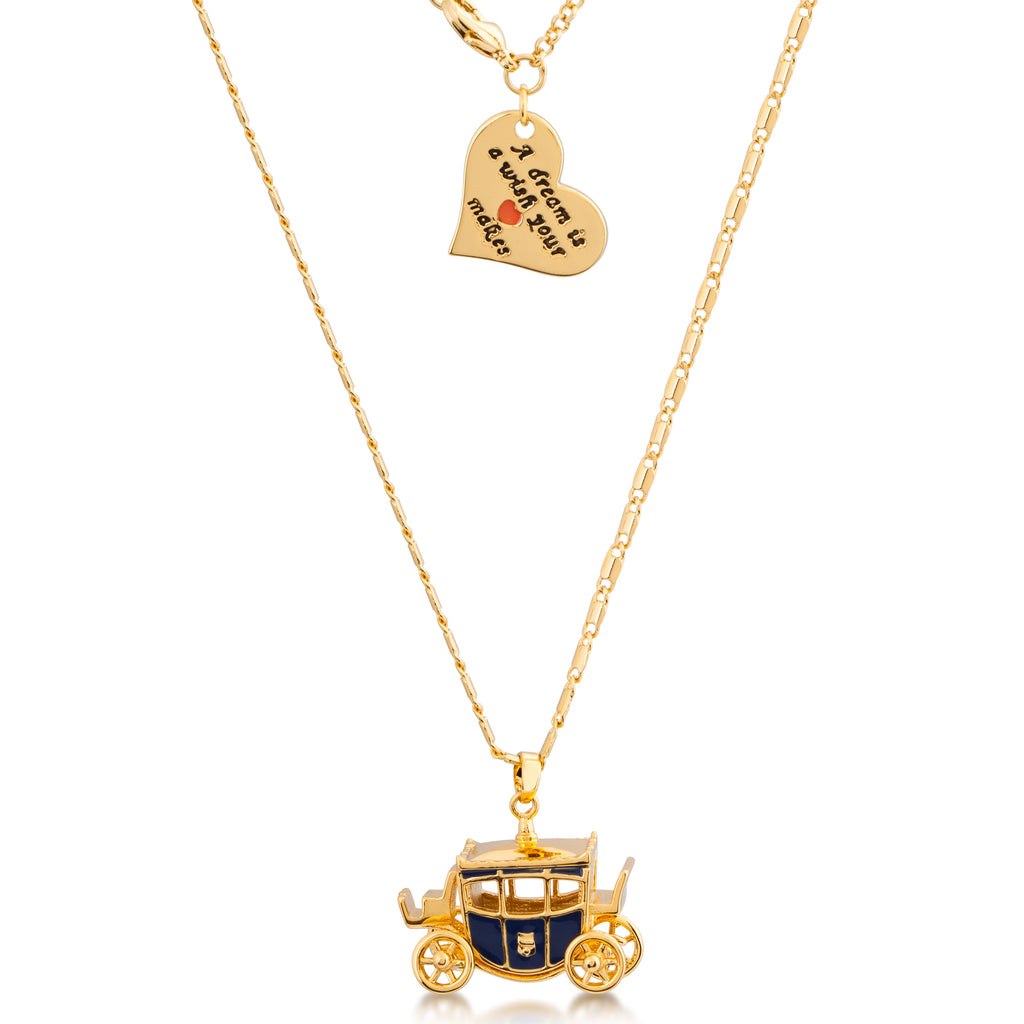 Disney Cinderella Carriage Necklace