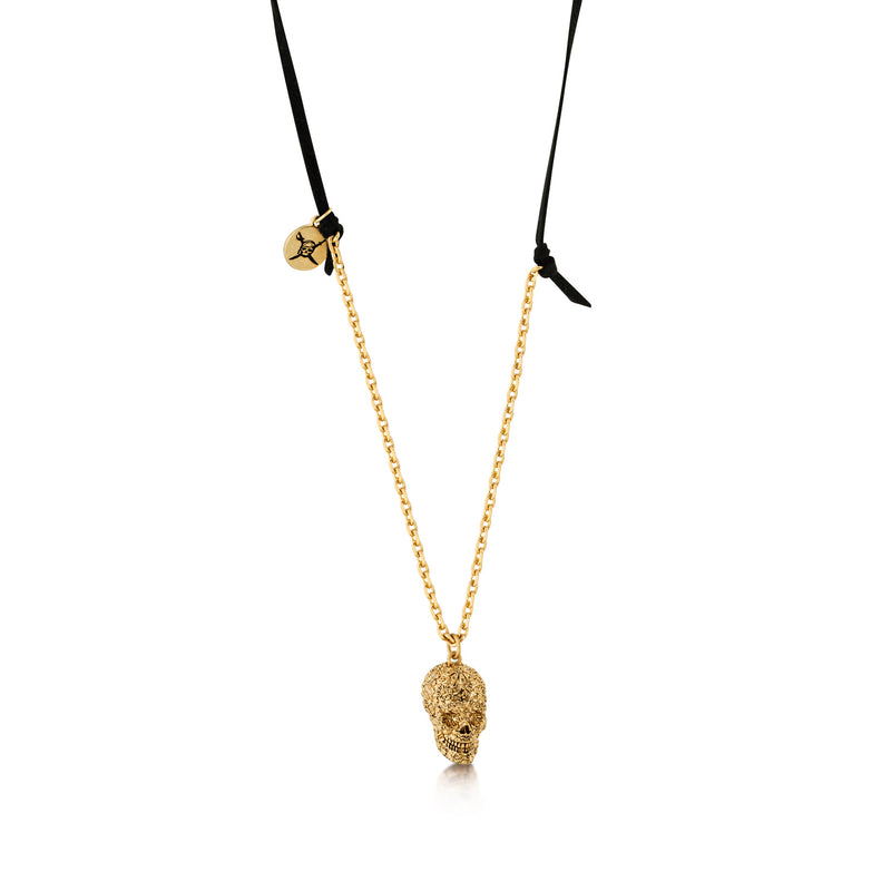 Disney Pirates of The Caribbean Skull Necklace - Disney Jewellery