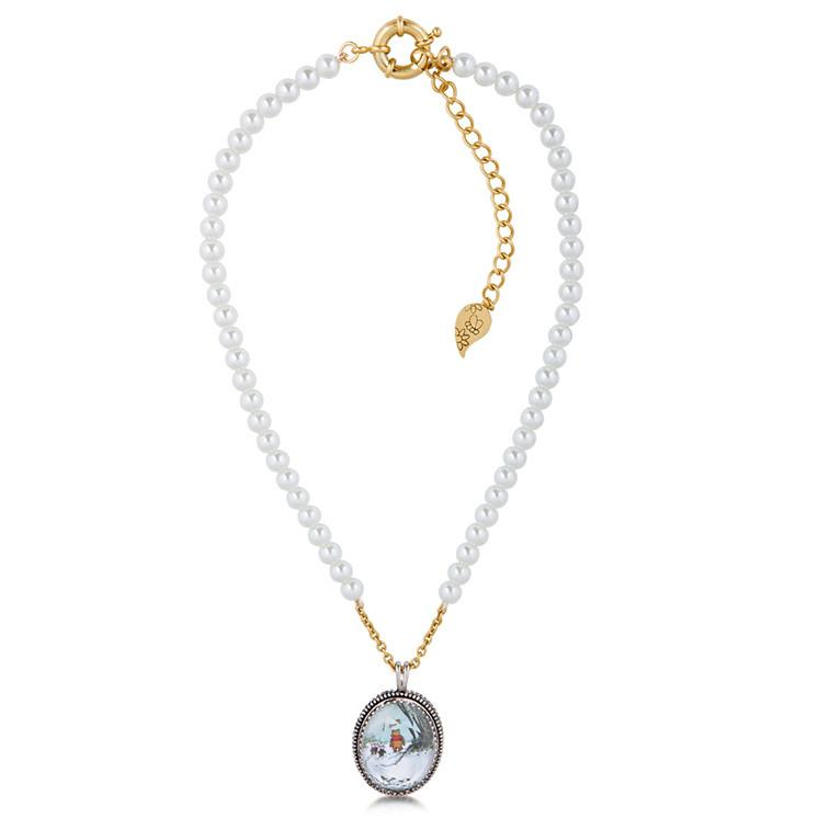 Disney Winnie the Pooh Pearl Necklace