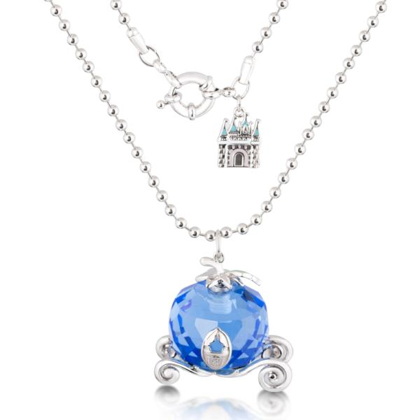 Disney Cinderella Pumpkin Carriage Necklace - Disney Jewellery