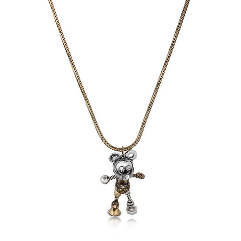 Disney Mickey Mouse Junk Yard Necklace - Disney Jewellery