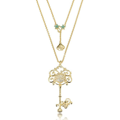 Disney Princess The Little Mermaid Key Necklace - Disney Jewellery